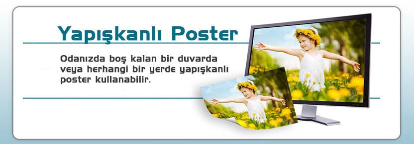 Yapışkanlı Poster