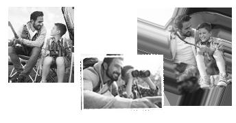 Tirage photo en noir et blanc