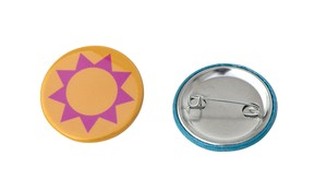 4 petits badges photo