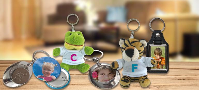 Porte clés et badges
