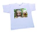 T-shirt blanc unisexe enfants