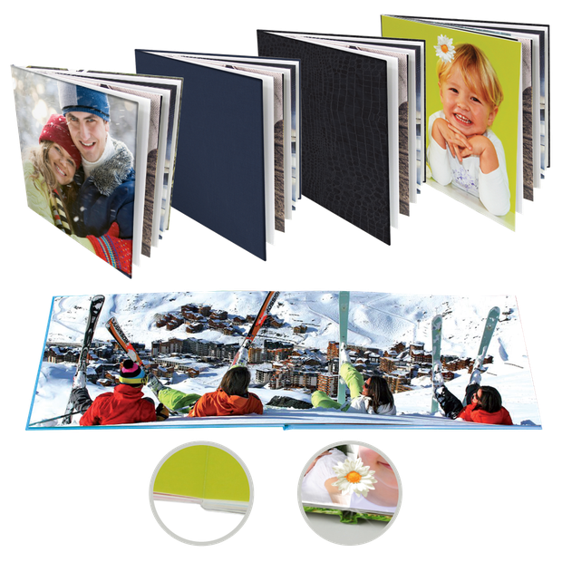 Livres photo sur papier photo