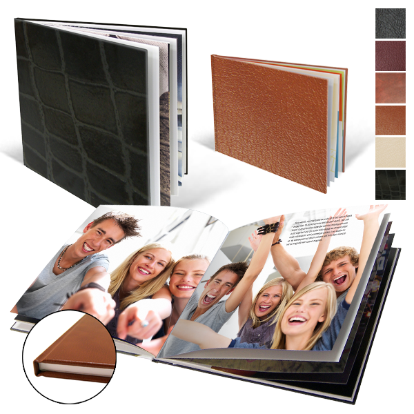 Livres Photo Fixcover Cuir