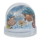 Boule magique - neige