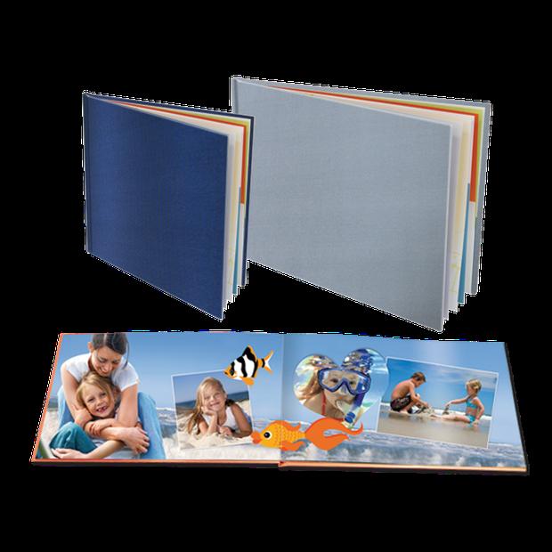 Livres sur Papier Photo Couverture en Lin