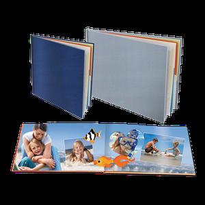 Boeken met Linnen kaft op Fotopapier