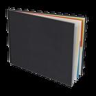 Couverture cuir Slim 20,5x15