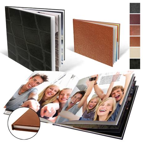 Fotoboeken met lederen kaft
