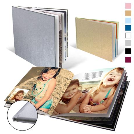 Fotoboeken met linnen kaft