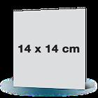 Fotowenskaart enkel 14x14