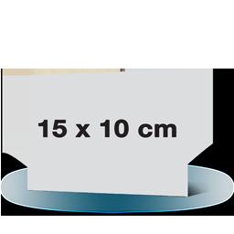 Fotowenskaart enkel 15x10