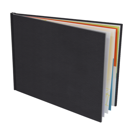 Couverture Rigide Cuir Slim 20,5x15