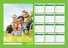 Magnetische Kalender A3 Horizontaal
