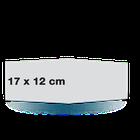 Carte pliée 17x12 sur papier satiné