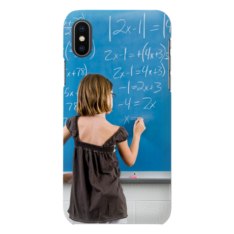 iPhone X - coque 3D