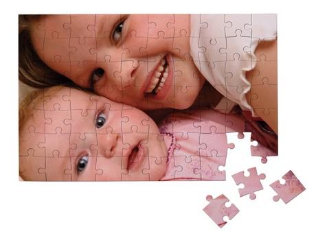 Puzzle A4 Brillant