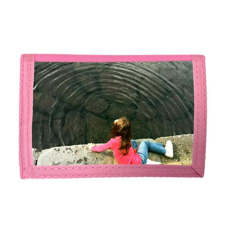 Kinderportemonnee roze