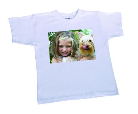 T-shirt wit unisex kinderen