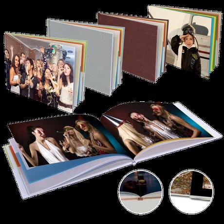 Fotoboeken op gedrukt papier