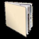 Leder Skyline 29,7x29,7 Fotopapier