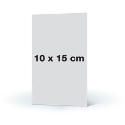 Fotowenskaart enkel 10x15