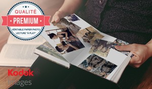 Livre photo PREMIUM couv. rigide