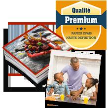 Tirages carrés Premium