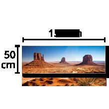 Photo sur Alu - Panoramique 50x150