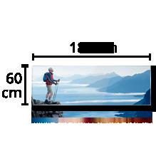Photo sur Alu - Panoramique 60x180