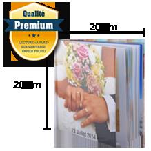 Livre Premium Rigide 20x20