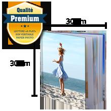 Livre Premium Rigide 30x30