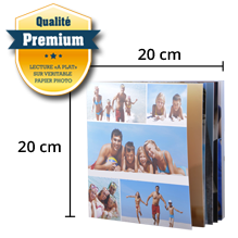 Livre Premium Souple 20x20