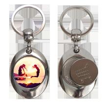 Porte clés métal