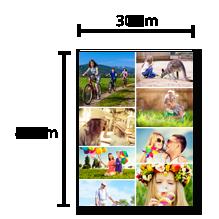 Pêle-Mêle 30x40cm
