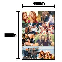 Pêle-Mêle 40x60cm