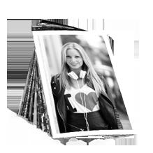 Tirage photo noir/blanc 10x15