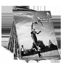Tirage photo noir/blanc 13x19