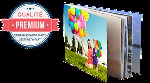 Livre Photo Premium 19x13cm Paysage