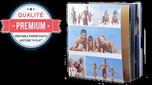 Livre Photo Premium 20x20cm Carré
