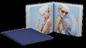 Livre photo tissu 20,5x20,5cm Carré