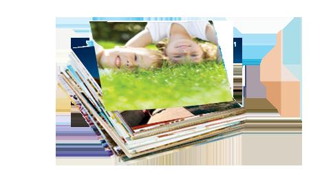 Imprimez vos photos au format carré 9x9cm - PhotoPolo