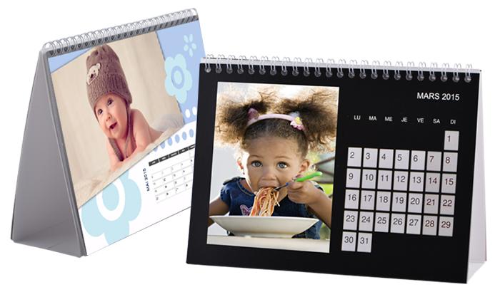 Calendrier de bureau Photopolo PhotoPolo